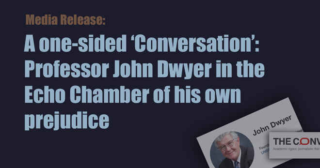 Professor John Dwyer The Conversation
