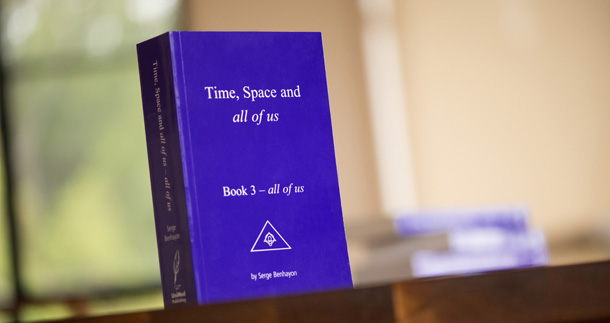 all of us By Serge Benhayon the 3rd in the trilogy, Time, Space and all of us