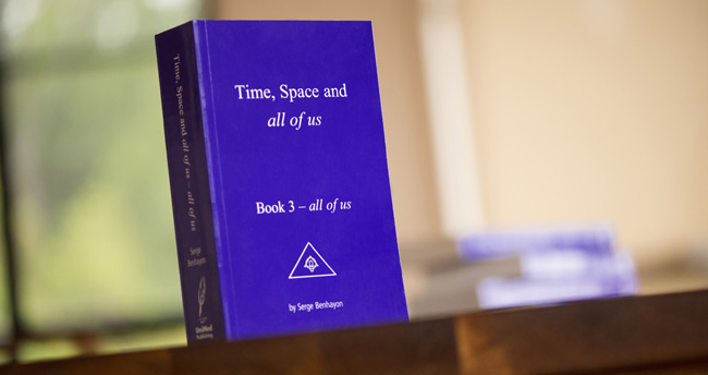 Book by Serge Benhayon Time, Space and all of us