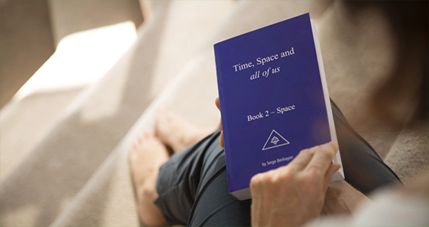 Space By Serge Benhayon the 2nd in the trilogy, Time, Space and all of us